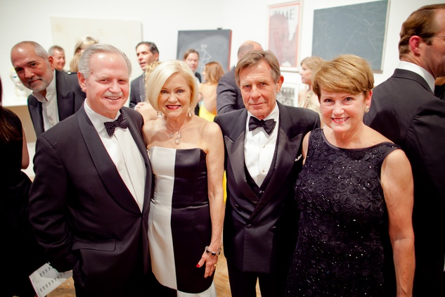 26 Jim and Jo Furr, left, and Mack and Cece Fowler at the CAMH Gala March 2015