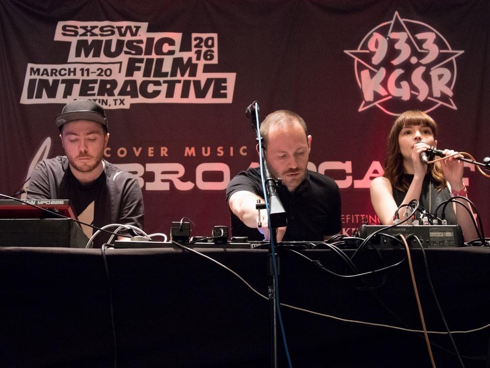 KGSR SXSW Live Broadcast Chvrches March 2016