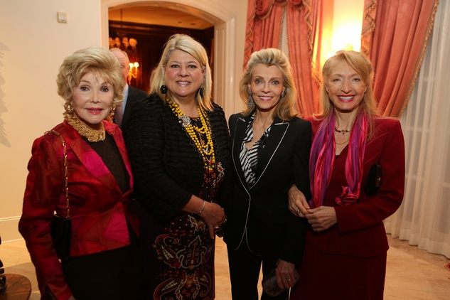 13 Joanne King Herring, from left, Cammy Jones, Alice Burguieres and Marie LeNotre HGO Opera ball kick-off party January 2014