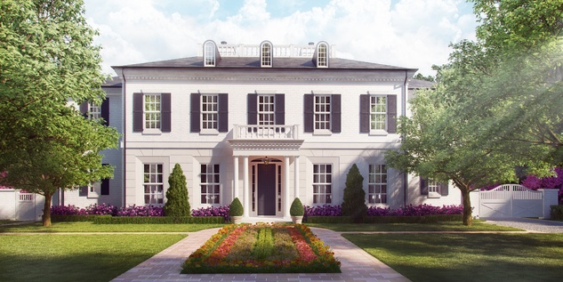 Houston, News, Shelby, Sudhoff Hampton Lane Collection, April 2015, 6111 Crab Orchard - front elevation