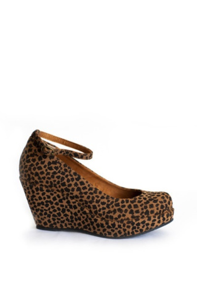 Bloom Cheetah Wedges