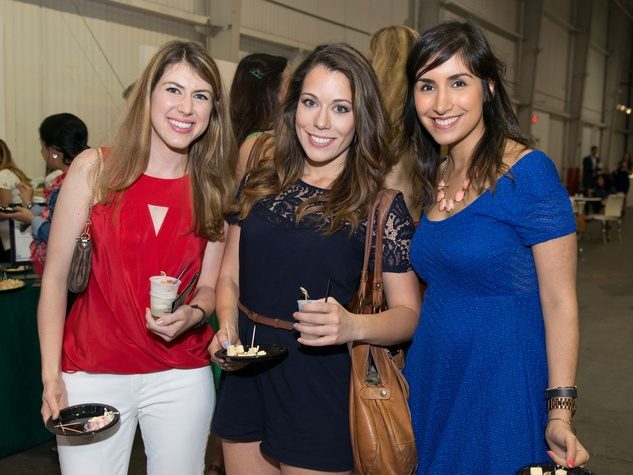 Foodies and young professionals celebrate at tastemaker for Cox houston