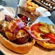 Hubbell & Hudson hamburger cheesburger classic burger