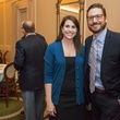 43 Abbey Roberson and Jason Tramonte at the Urban Land Institute Houston mixer October 2014