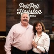 Houston, George Springer Bowling Benefit Kick Off, June 2015, Lanny and Debbi Griffith