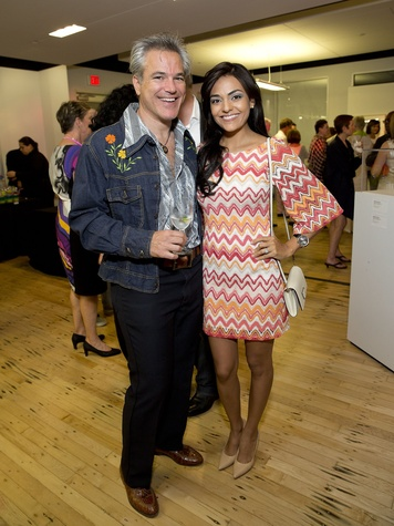 Glassell Benefit and Auction 2015 Steven Graubart; Gaby Ortega