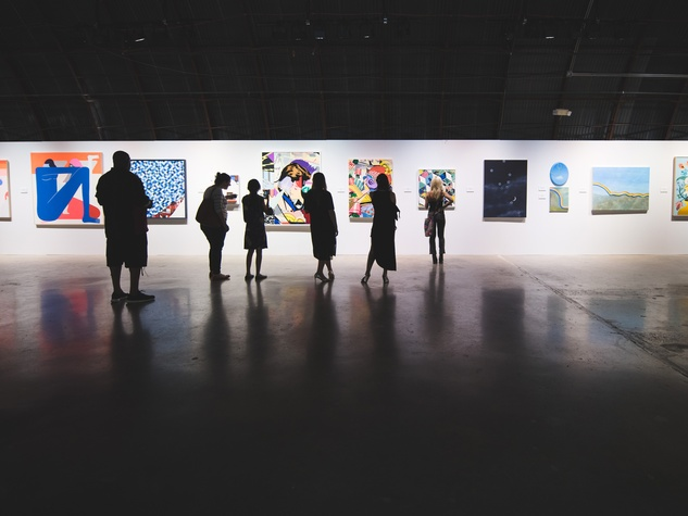 Pop Austin International Art Show 2016