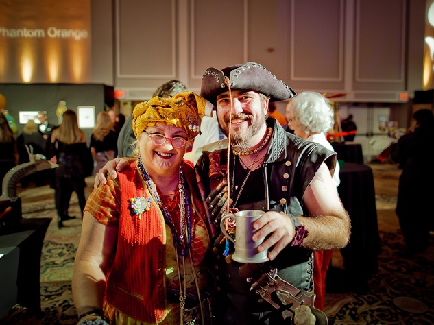 Orange Show Gala Jack and Alice Tutt