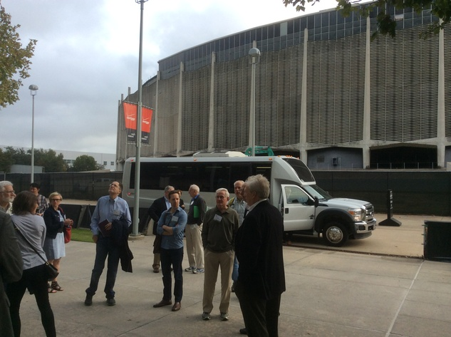 Ralph Bivins Astrodome April 2015 A team of urban planning experts toured the vacant Astrodome last December.  CultureMap columnist Ralph Bivins, editor of Realty News Report, was embedded in the fact finding mission.