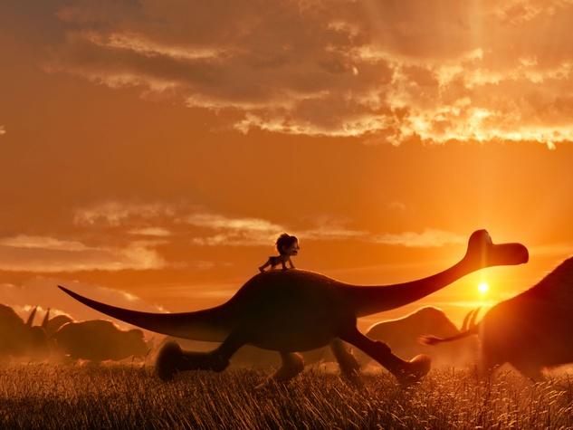 Scene from The Good Dinosaur