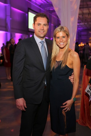 Jay and Allie Fields at the March of Dimes Signature Chefs event October 2014