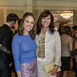 Lindsey Radcliffe, left, and Angie Roberts at the Huffington Center on Aging luncheon October 2014