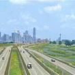 Trinity River toll road rendering