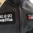 George H.W. Bush skydive suit
