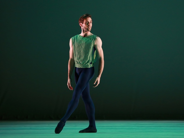 Connor Walsh in Houston Ballet The Letter V