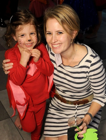 Houston, MD Anderson Children's Cancer Hospital Halloween Spooktacular, Oct. 2016, Winnie Powell, Claire Powell