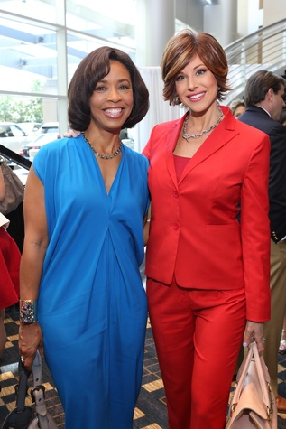 News, shelby, Children's Assessment Center luncheon, May 2015, Gina Gaston, Dominique Sachse