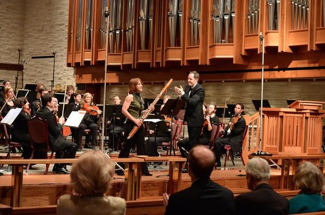 River Oaks Chamber Orchestra, Alastair Willis, Kristin Wolfe Jensen