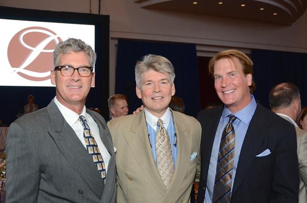 News, shelby, Legacy luncheon, Sept. 2015, Tom LeCloux, Dr. Steve Hamilton, George Lancaster