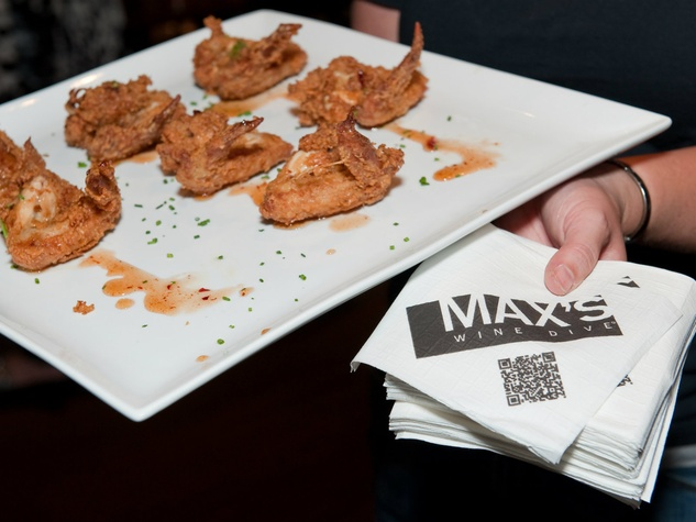 Fried chicken at Max's Wine Dive in Dallas