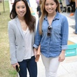 9 Christine Nguyen, left, and Natalie Vu at Punk's Street Carnival February 2014