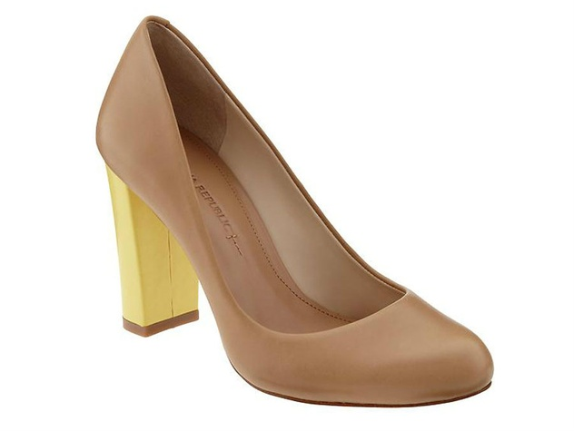 banana republic liza pump