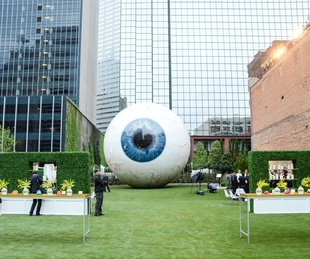 The Joule, The Eyeball, Dallas Art Fair