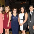 1 Ana Calzada, from left, Laura Eliseo, Beatrice Garza, Aracely Calzado and Gustavo Medina at the AAMA Tacos y Tacones Gala October 2014