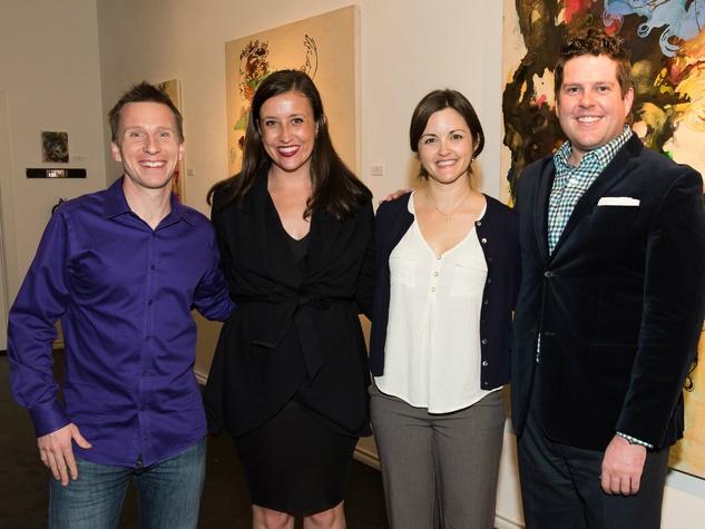 David Cooper, Christina Geyer, Jennifer Humphreys, Alex Bolton, Vivaldi Patron Circle