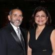 4 Ramiro Fonseco and Margaret Rodriguez at the AAMA Tacos y Tacones Gala October 2014