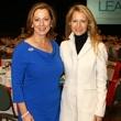 Linda Secrest and Lynn McBee, milestones luncheon