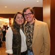 Kathryn and Adam Roark at the LifeHouse Houston Duck Dynasty dinner September 2014