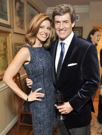 012, Houston Ballet Ball kickoff party, October 2012, Dominique Sachse, Nick Florescu