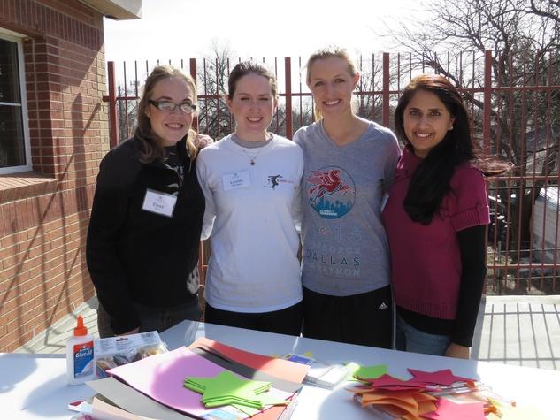 Elysa Ellis, Lauren Harington, Elizabeth Wellborn, Purya Jain, JLD Provisional Project at Promise House