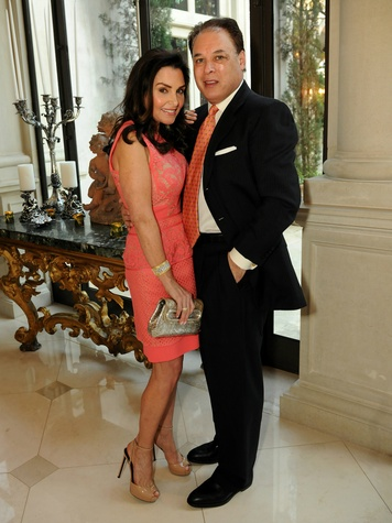 Rozalyn and Robert Colombo, Art Ball Patron Party