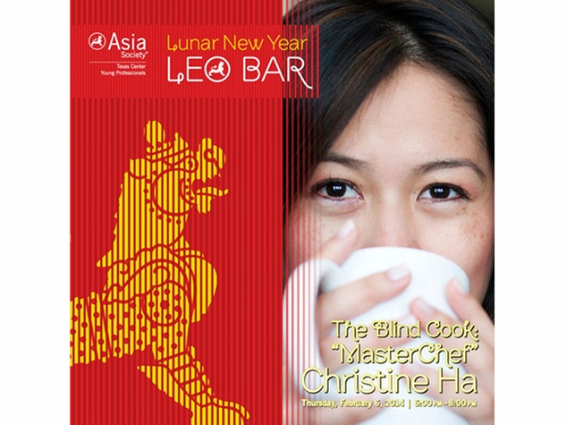Amy Chien Lunar New Year January 2014 Christine Ha at Leo Bar