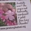 5 Katie Oxford Fifth Annual Jane Long Festival and Lecture Series September 2014