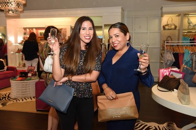 Houston, Elaine Turner Apparel Launch Party, May 2015, Cheli Alexander, Martha Garcia