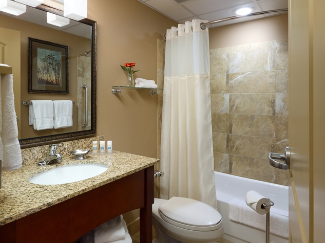 It 39 s past time for hotels to cater to business women must for Bathroom designs houston