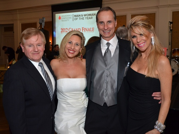 Leukemia Man and Women of Year finale, June 2012, Ed Sullivan, Tracy Orolin, Harry Faulkner, Ronna Lynn Pangarakis