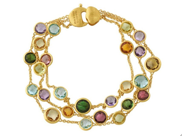 Marco Bicego three row Jaipur bracelet