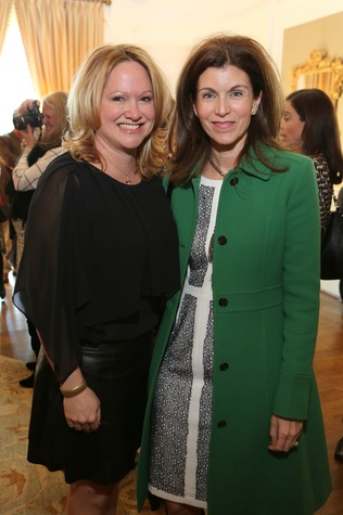 13 Kiki Wilson, left, and Lisa Sherrill at the The Center Luncheon February 2015