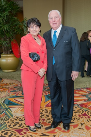 Holocaust Museum Courage Award Dinner, May 2015, Rosalyn and Barry Margolis