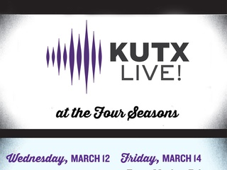 poster for KUTX Live at the Four Seasons during SXSW 2014