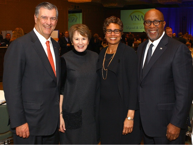 Micki and Mike Rawlings with Matrice and Ron Kirk, VNA Legends and Leaders