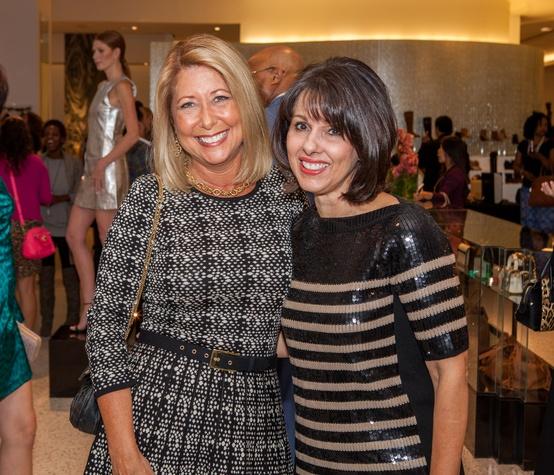 Heidi Rockecharlie, Vicky Norwood at Heart of Fashion kickoff party