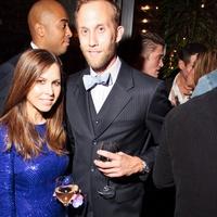 Fashion Houston wrap-up party at Hotel ZaZa, November 2012, Monique Lhuillier, Joshua Bibb