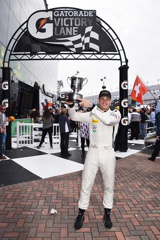 Nick Boulle at Rolex 24 at Daytona