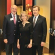 Sam Holland, Gayle Turner, Dr. Gerald Turner, Meadows Reception
