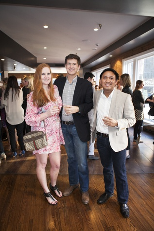 Brittany Wolf, Robert Clements, Randall Rosales, culturemap dallas social, the woolworth